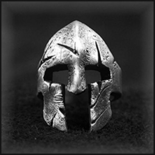"Ring ""Spartanerhelm"""