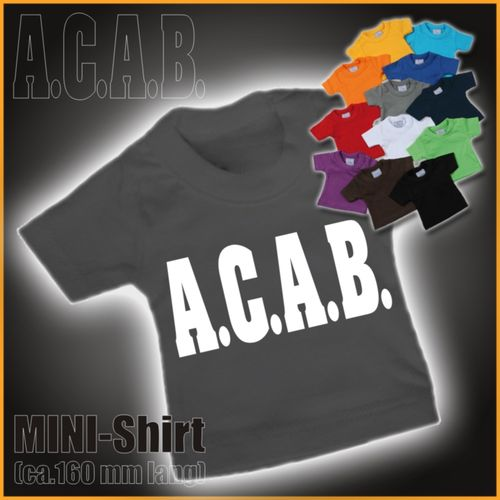 "MINI-Shirt ""ACAB"""