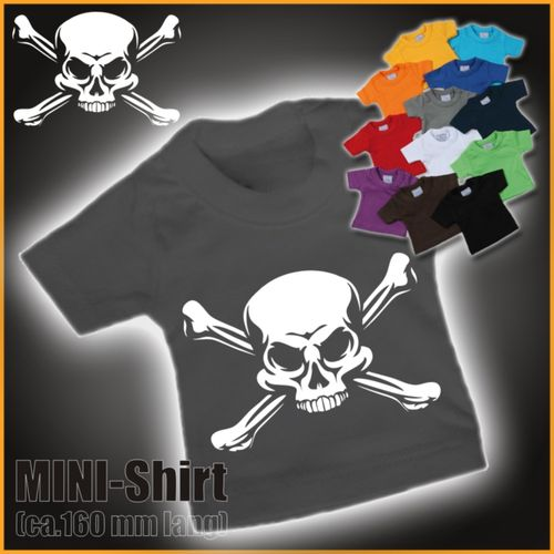 "MINI-Shirt ""Skull with Bones"""