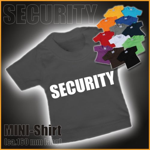 "MINI-Shirt ""Security"""