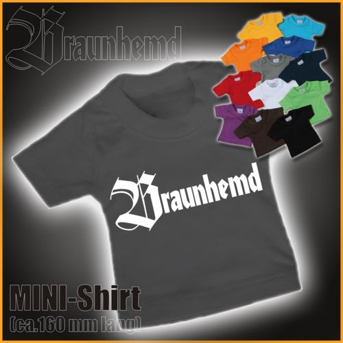 "MINI-Shirt ""Braunhemd"""