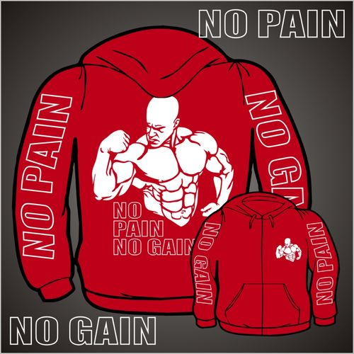 No Pain No Gain (Kapuzenjacke)