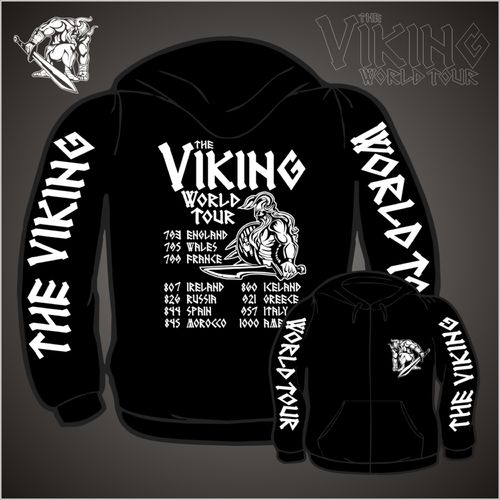 Viking World Tour (Kapuzenjacke)